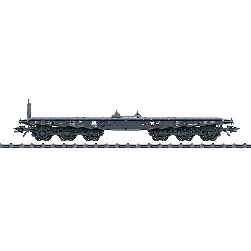 Plat à six essieux type SSym 46 DB - HO