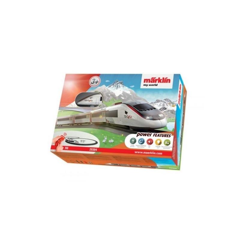 """Coffret départ """"My world"""" TGV Lyria - H0"""