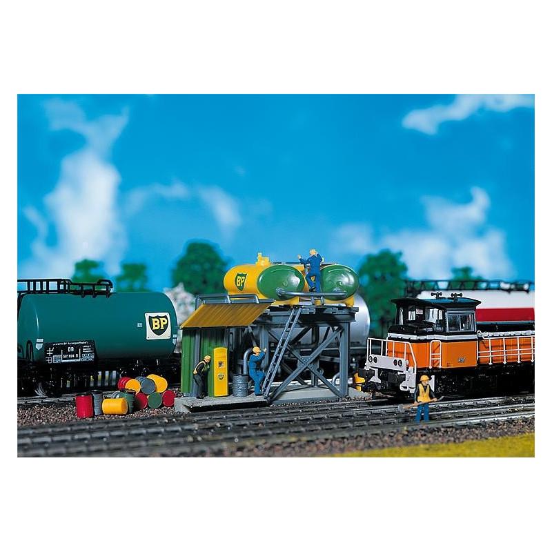Réservoir de gas-oil pour locomotive diesel