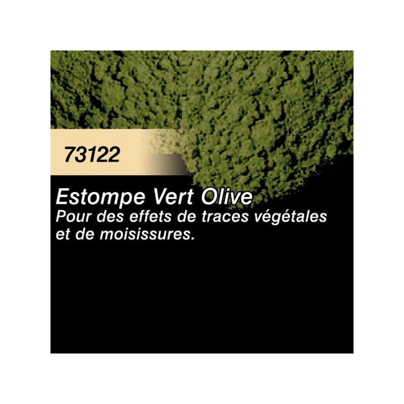 Pigment estompe vert olive - 30 ml