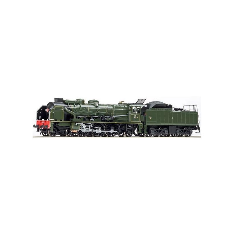231 E 30 SNCF avec nouveau tender type 37 A 114 - H0