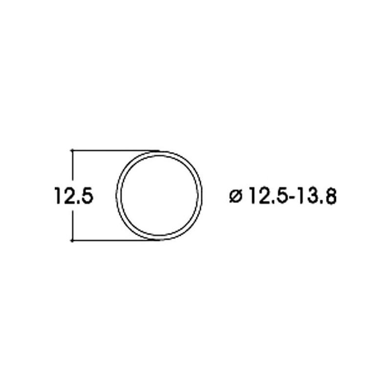Bandage d'adhérence - Ø 12,5 à 13,8 mm - H0