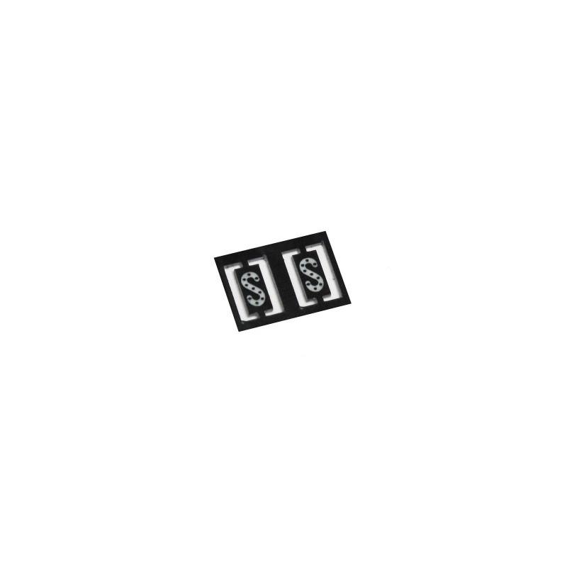 Plaque S réflectorisée x2 - N