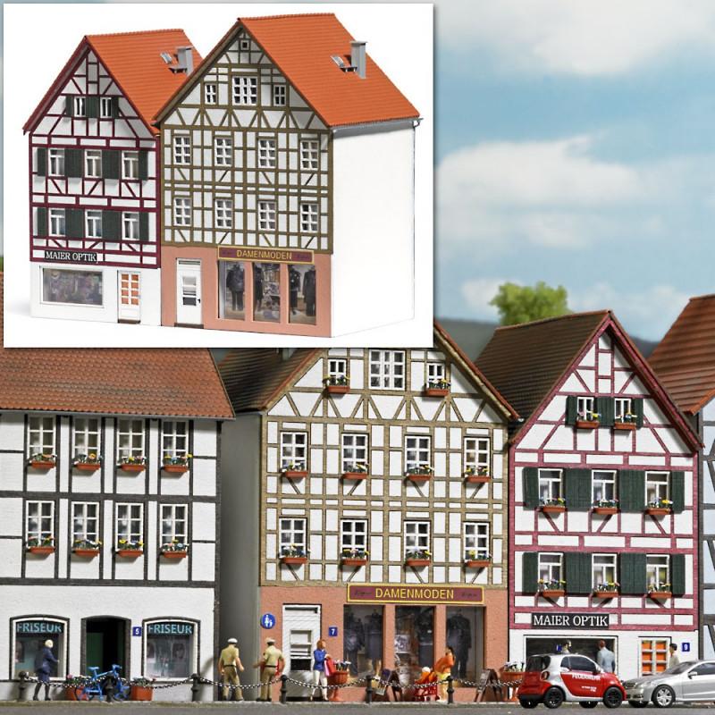 2 immeubles à colombages