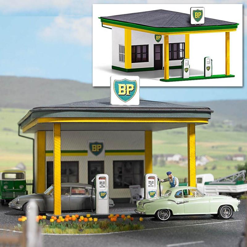 Station service BP années 50/60