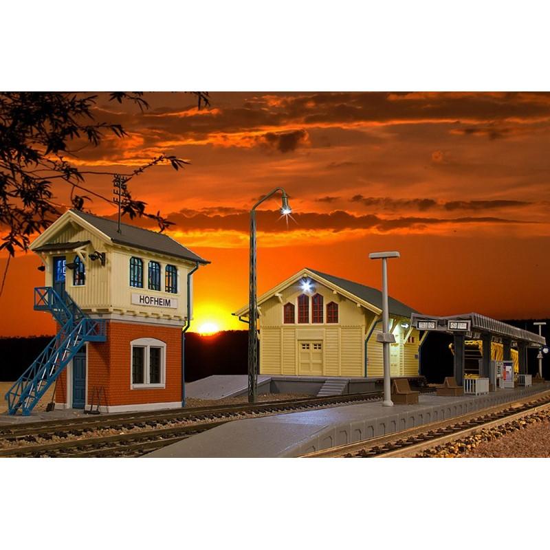 Autour de la gare