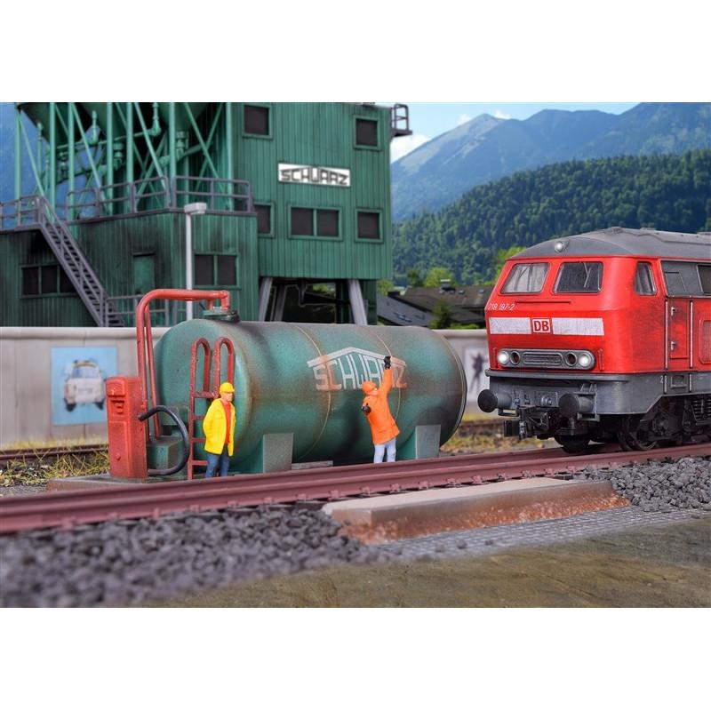 Station pour machine diesel