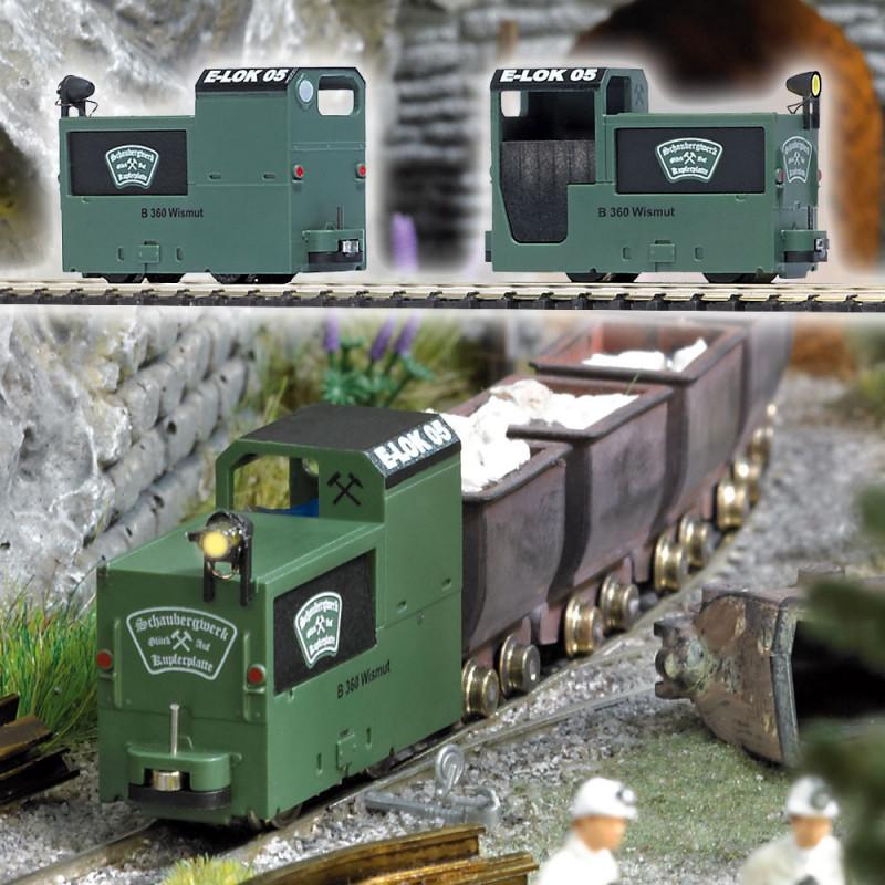 Locotracteur de mines B 360 - H0f/H0i