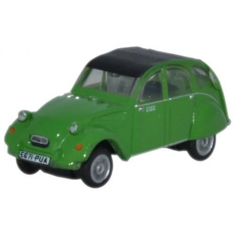 Citroën 2CV - verte - N
