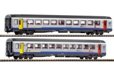 Voiture Corail SNCF TER Bourgogne  x2 - H0
