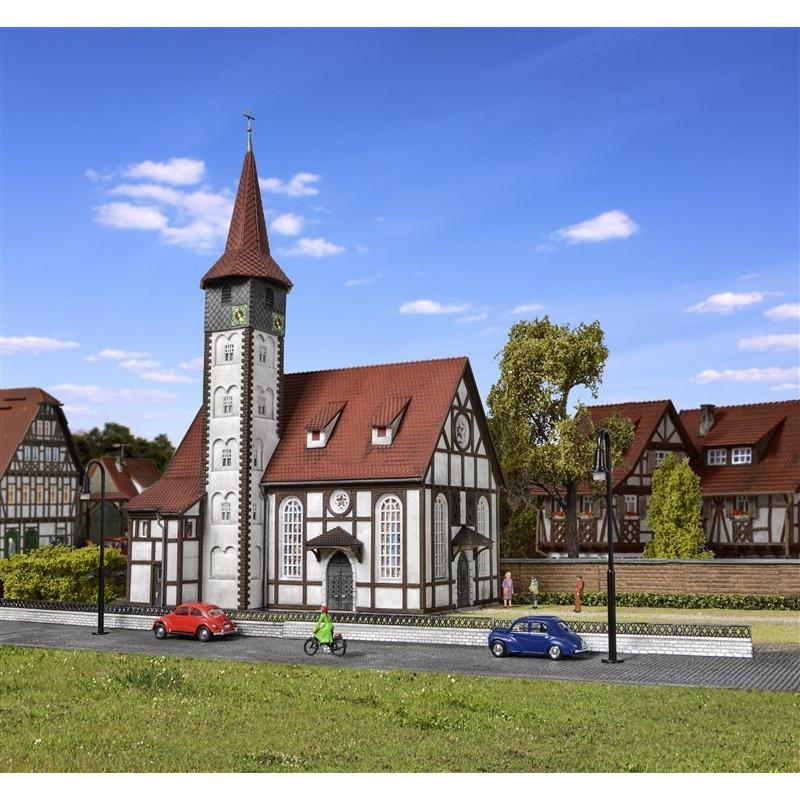 Eglise à colombages