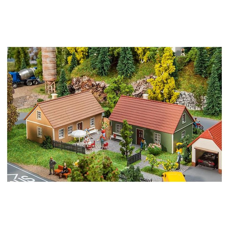 2 Maisons de village - H0