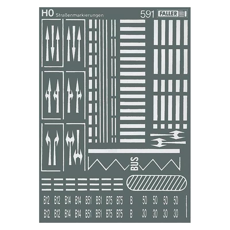 Signalisation horizontale - H0
