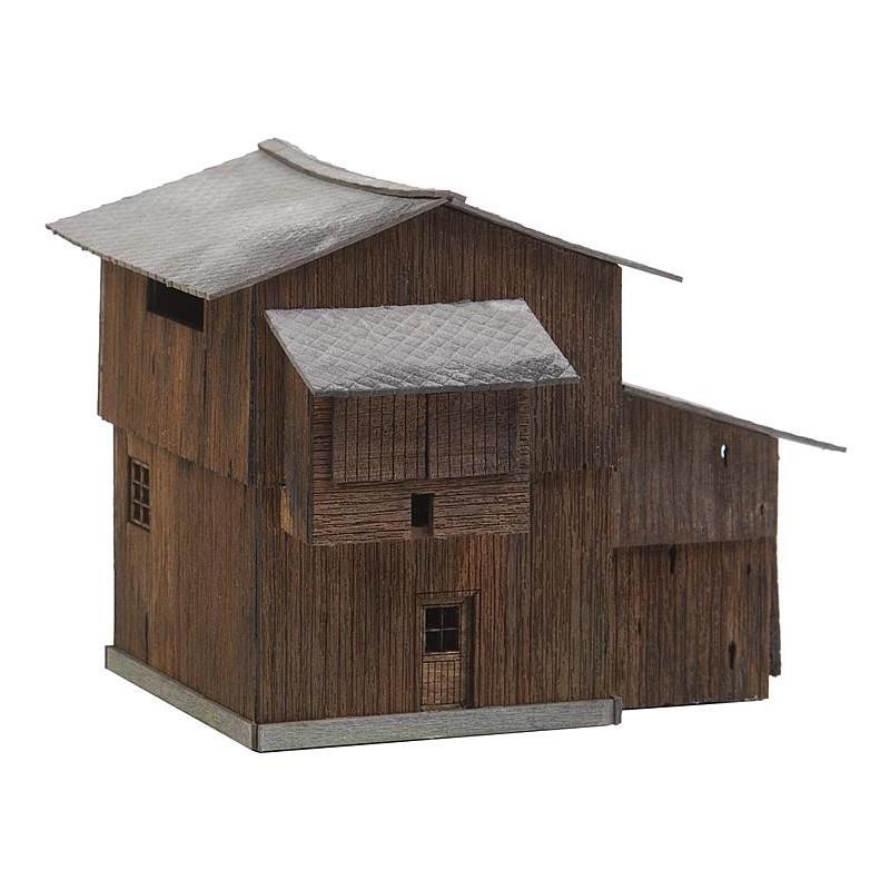 Hangar à bois de Murtal