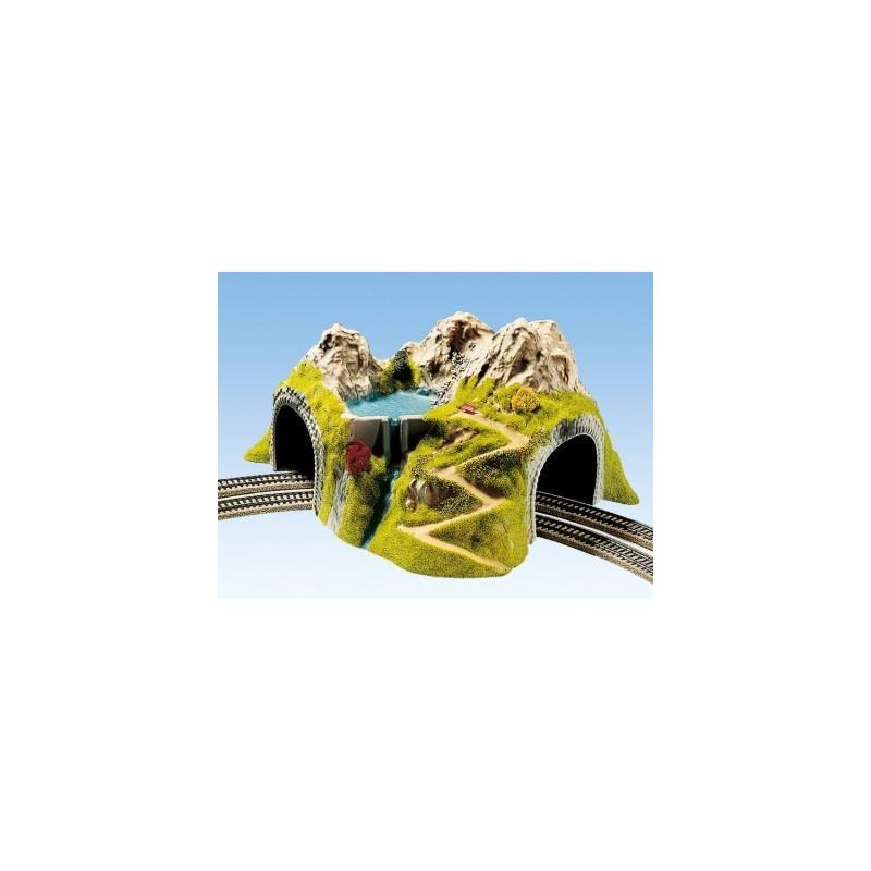 Tunnel droit voie unique - H0