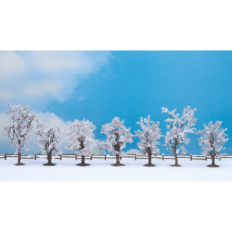 Arbres en hiver  x7 - H0