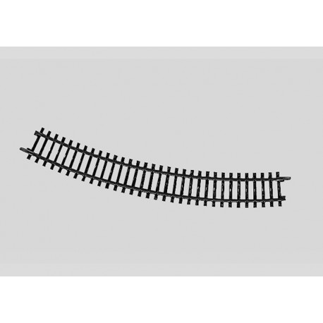 Rail courbe - H0 - code 100 - traverses bois - sans ballast - Voie K - R2 : 424,60 mm - 12 coupons/cercle - courant alternatif
