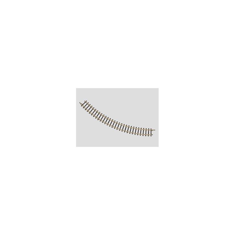 Rail courbe  - Z - code 60 - traverses bois - sans ballast - R1 : 145 mm - 8 coupons/cercle - courant continu