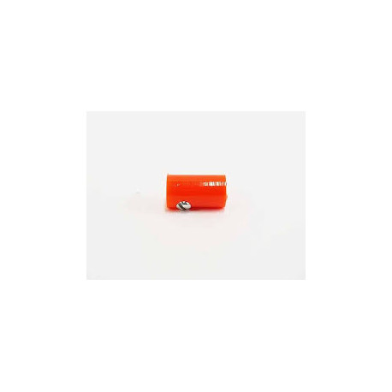 Fiche femelle - Ø 2,5 mm - orange x10