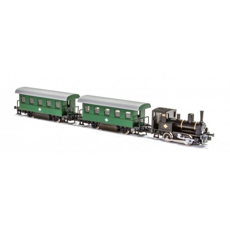 Petit train vapeur touristique