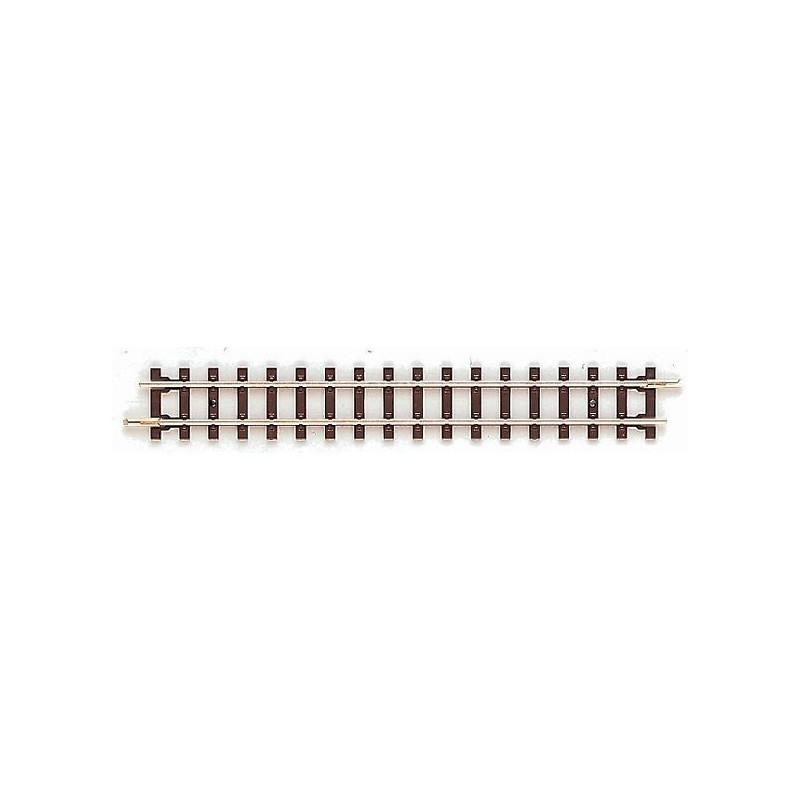 Rail droit - H0e - code 83 - traverses bois - sans ballast