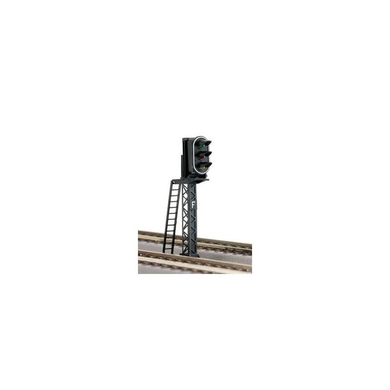 Signal 3 feux SNCF - H0 - Voie Roco Line