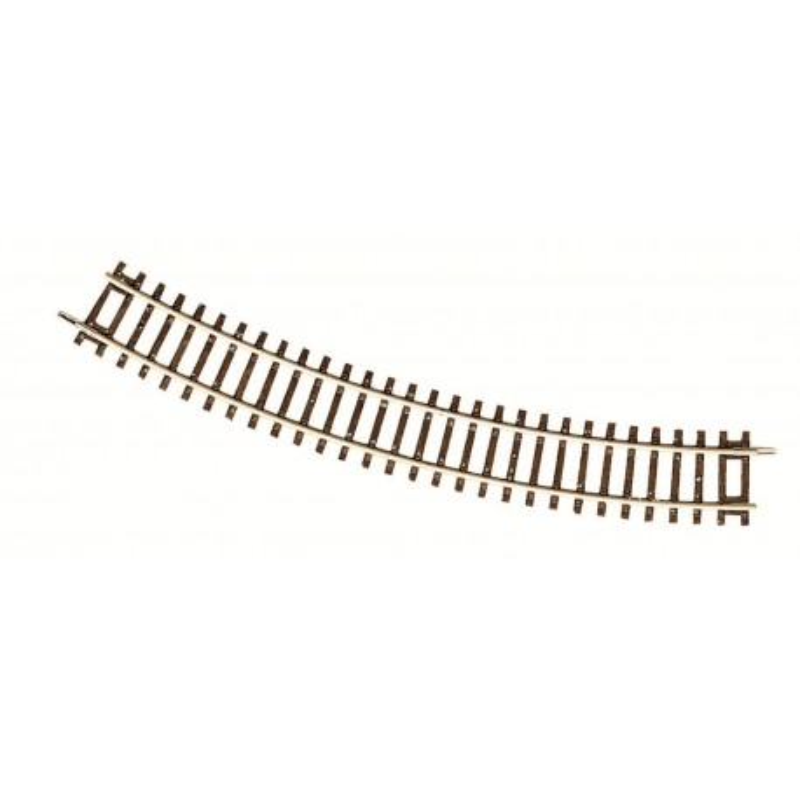Rail courbe - H0 - code 83 - traverses bois - sans ballast - Voie Roco Line - R3 : 419,60 mm  - 12 coupons/cercle