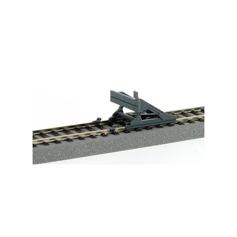 """Heurtoir """"rails"""" - H0 - Voie Roco Line"""