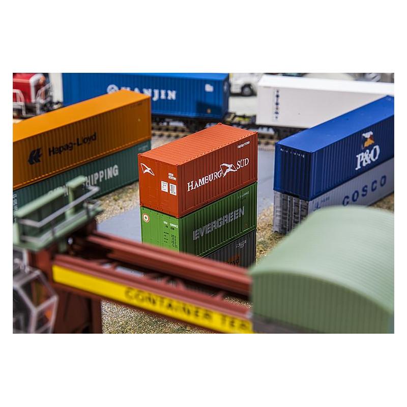 """Container 20' enseigne """"HAMBURG SÜD"""""""