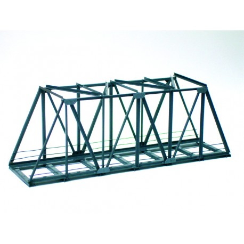 Pont métallique - modèle monté - H0