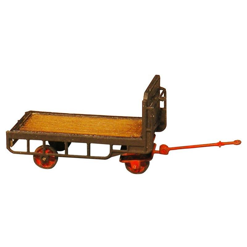 Remorque pour chariot à bagages électique - H0