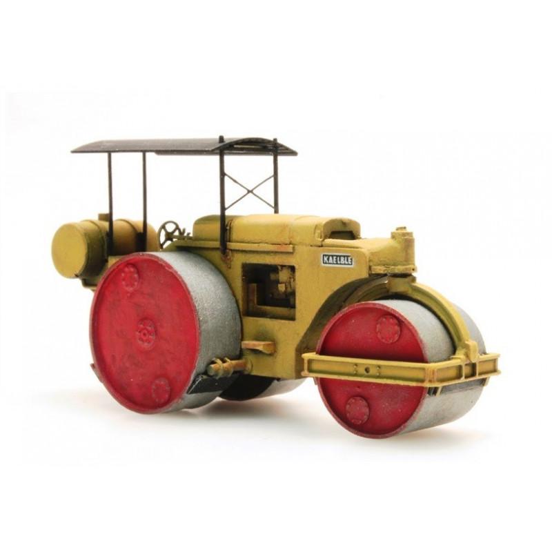 Rouleau compresseur - jaune - H0
