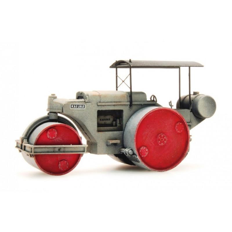 Rouleau compresseur - gris - H0