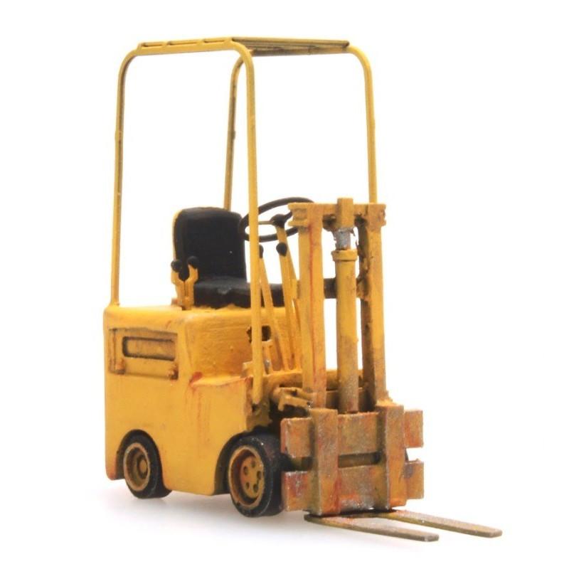 Chariot élévateur Fenwick avec protection - jaune
